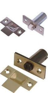 38MM ADJUSTABLE ROLLER MORTICE DOOR BALL CATCH LATCH